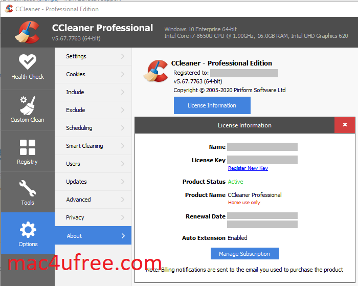 CCleaner Professional Key Crack 5.85.9170 Serial Key Download 2022