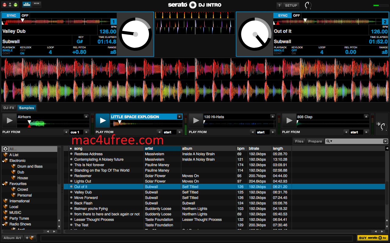 Serato DJ Pro Crack 2.5.0  With Activation Key Latest Version 2021 (Win Mac)