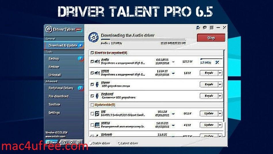 Driver Talent Pro Crack 8.0.1.8  Serial Key Latest Version  Full Download 2021