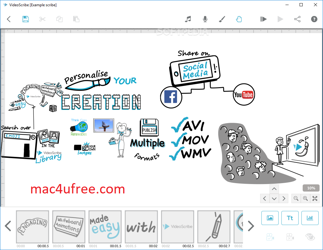 Sparkol VideoScribe Crack 3.6.11+ Torrent Free Download (Mac Win) 2021