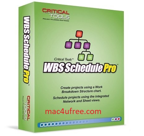 WBS Schedule Pro Crack 5.1.0025 Serial Key Free Download 2021