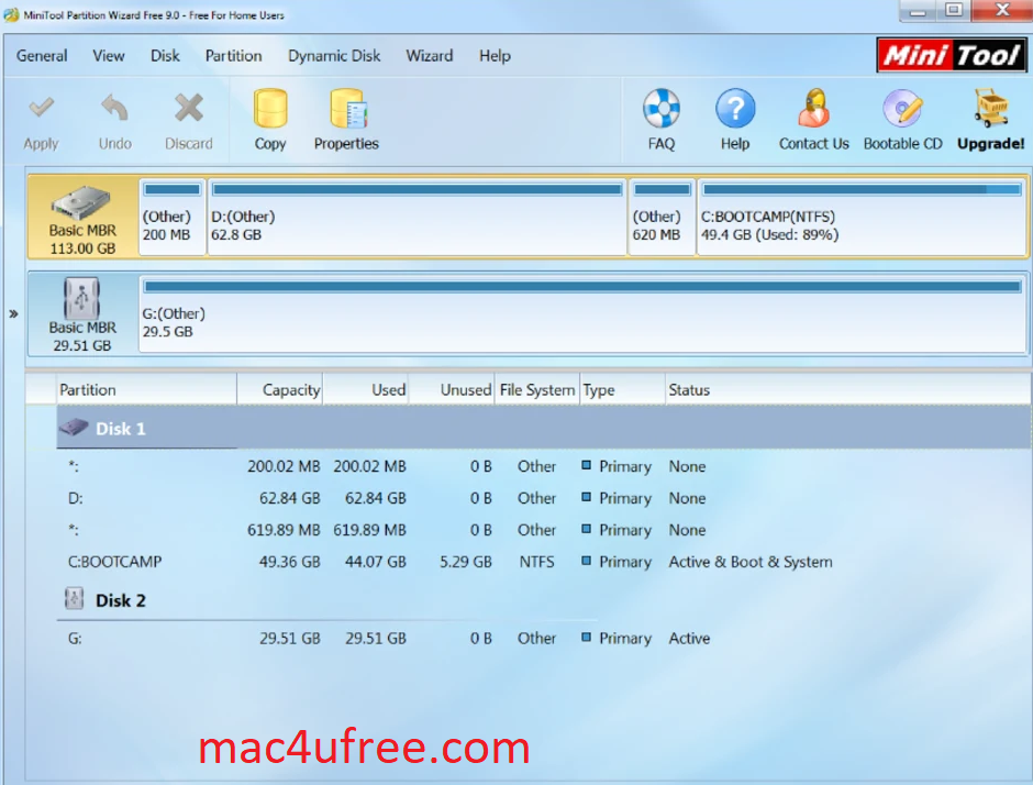 MiniTool Partition Wizard Crack 12.3 License Key Free Download 2021