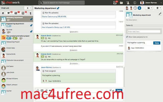 ChatWork Crack 2.6.5 Serial Key Free Download 2022
